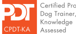 Certified Professional Dog Trainer Badge