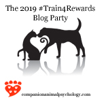 2019 Train for Rewards Blog Party Logo