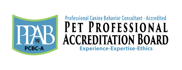 Professional Canine Behavior Consultant – Accredited badge