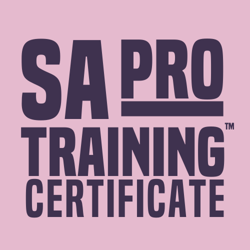 SA Pro Training Certificate